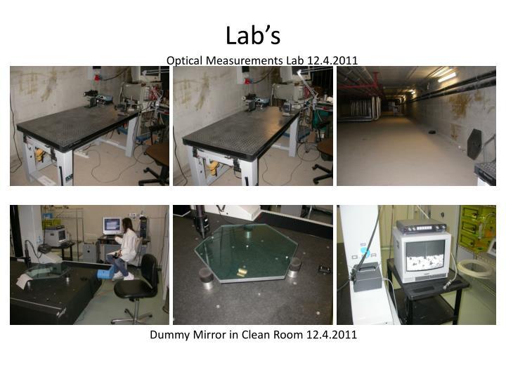 Lab's