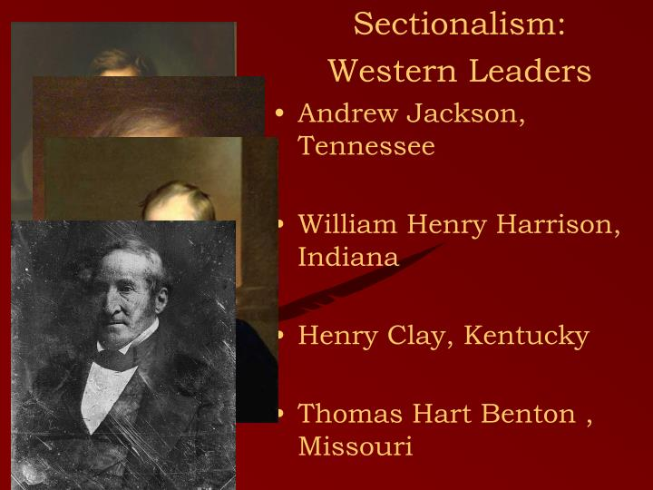Sectionalism: