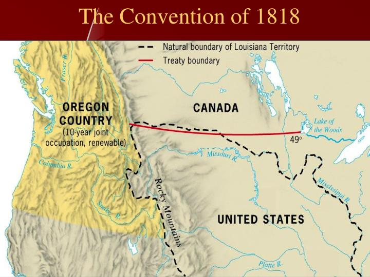 The Convention of 1818