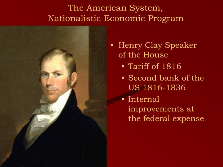 Henry Clay Speaker of the House