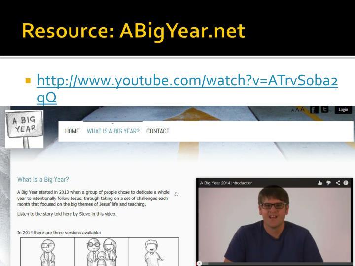 Resource: ABigYear.net