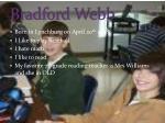 bradford webb
