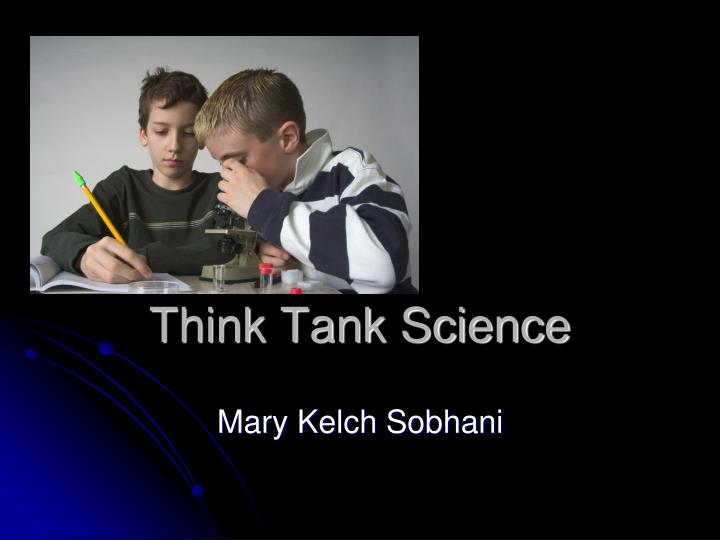 Think tank science