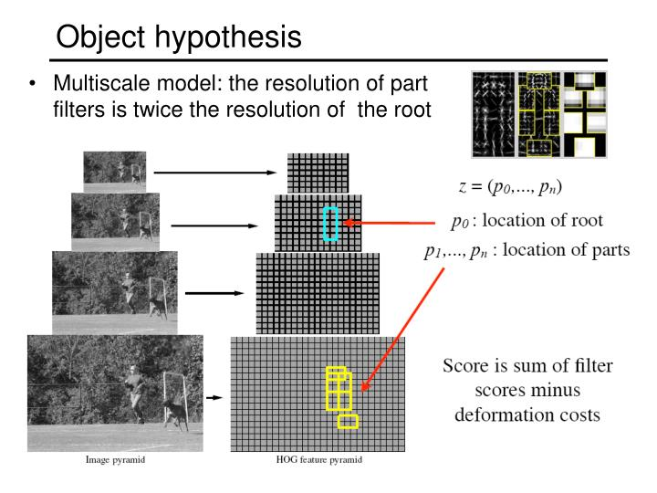 Object hypothesis