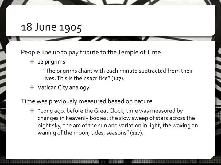 18 June 1905