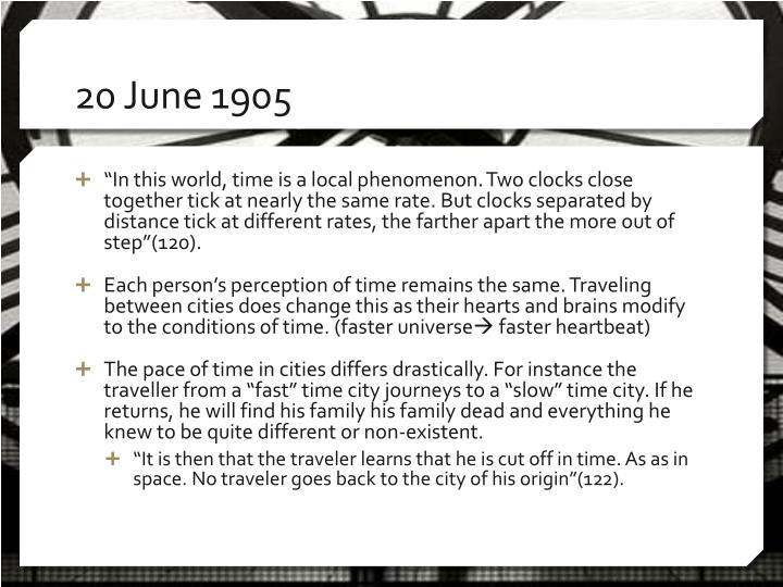 20 June 1905