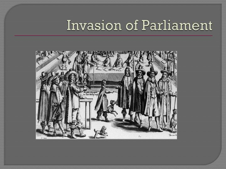 Invasion of Parliament