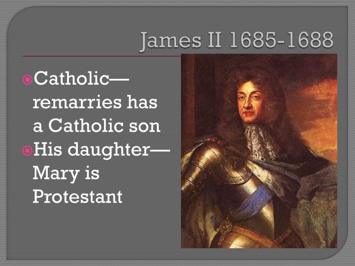 James II 1685-1688