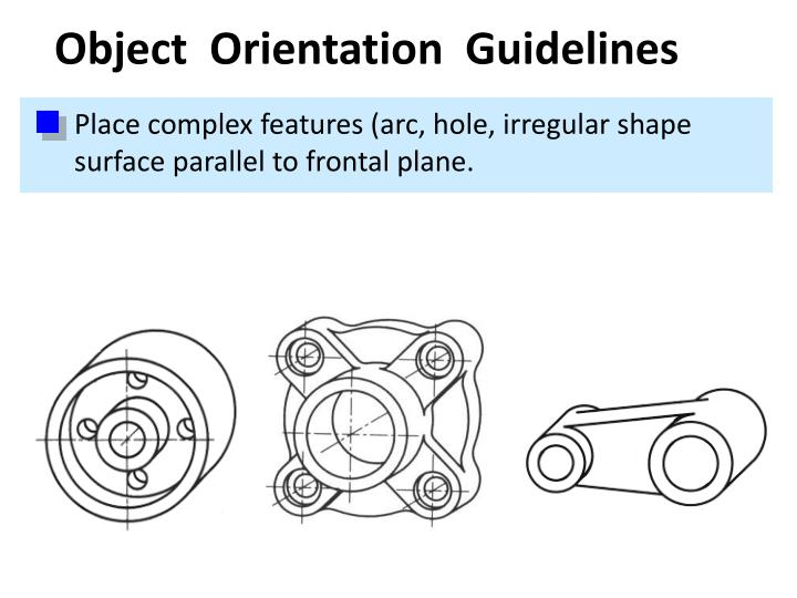Object  Orientation  Guidelines