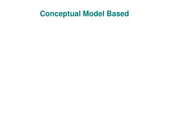Conceptual Model Based