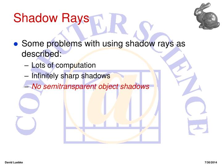 Shadow Rays