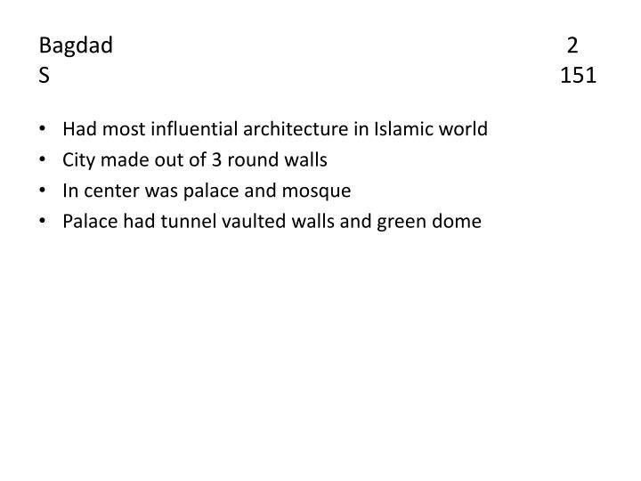 Bagdad                                                                                2