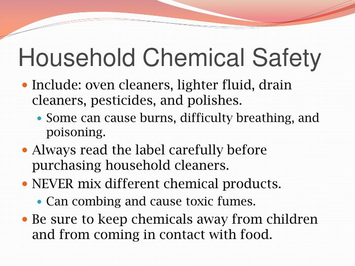 Household Chemical Safety