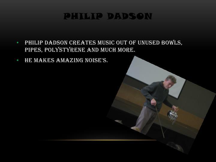 Philip dadson