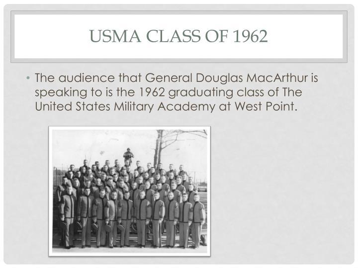 USMA Class of 1962