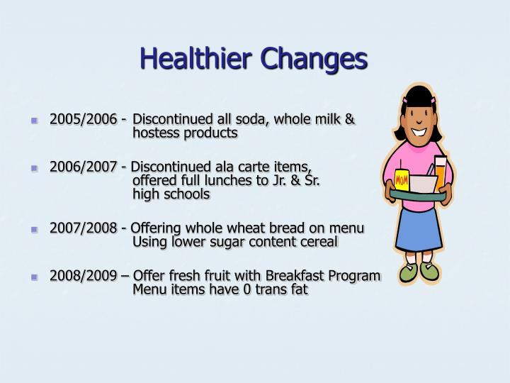 Healthier Changes
