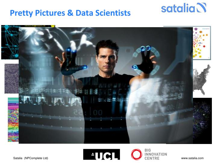 Pretty Pictures & Data Scientists