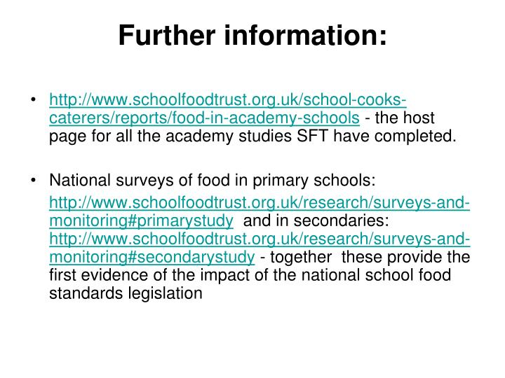 http://www.schoolfoodtrust.org.uk/school-cooks-caterers/reports/food-in-academy-schools