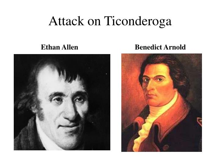 Attack on Ticonderoga
