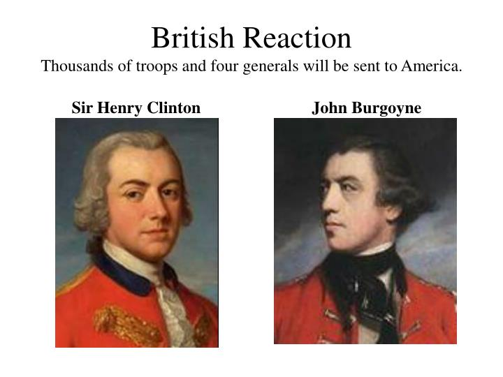 British Reaction