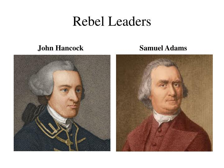 Rebel Leaders
