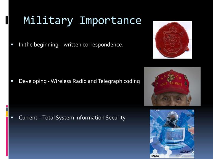 Military Importance