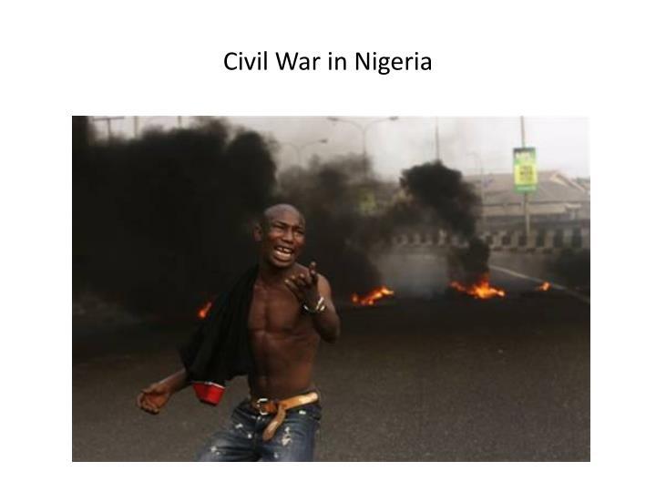 Civil War in Nigeria