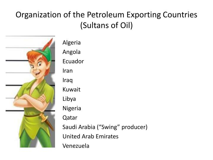 Organization of the Petroleum Exporting