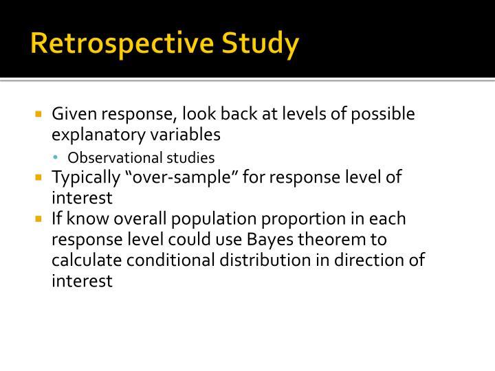 Retrospective Study
