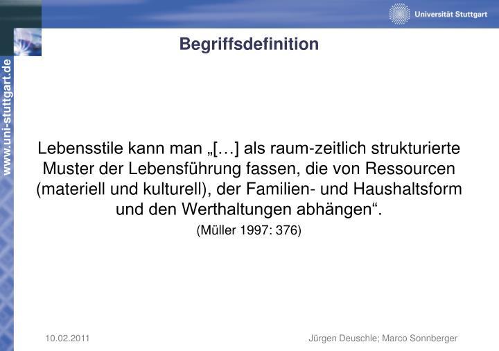 Begriffsdefinition