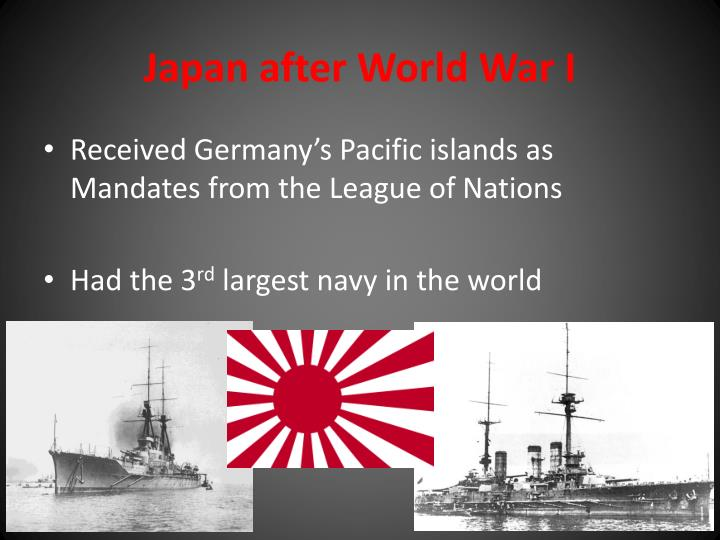 Japan after world war i