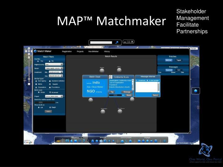 MAP™ Matchmaker