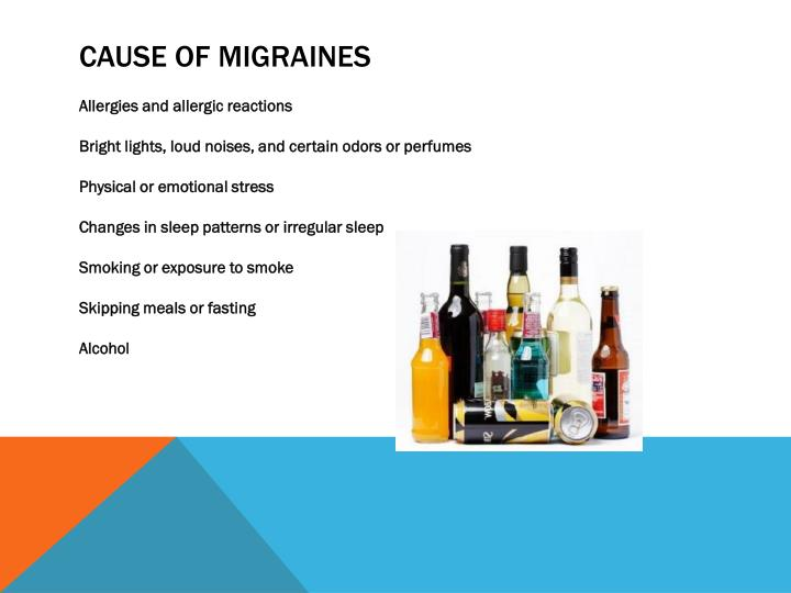 Cause of migraines