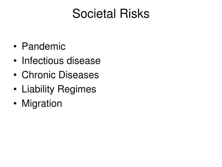 Societal Risks