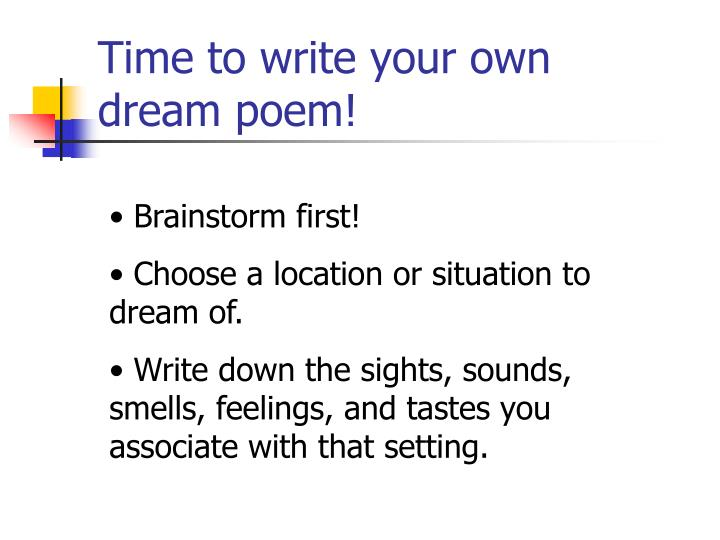 Time to write your own