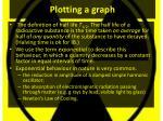 plotting a graph