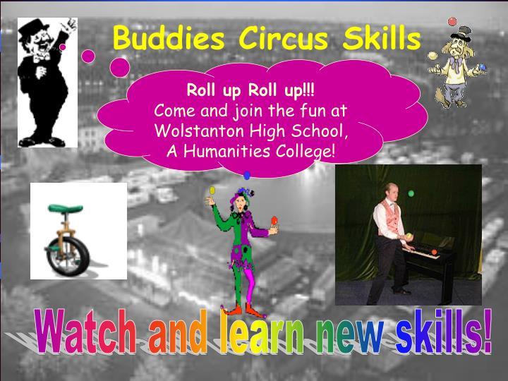 Buddies Circus Skills