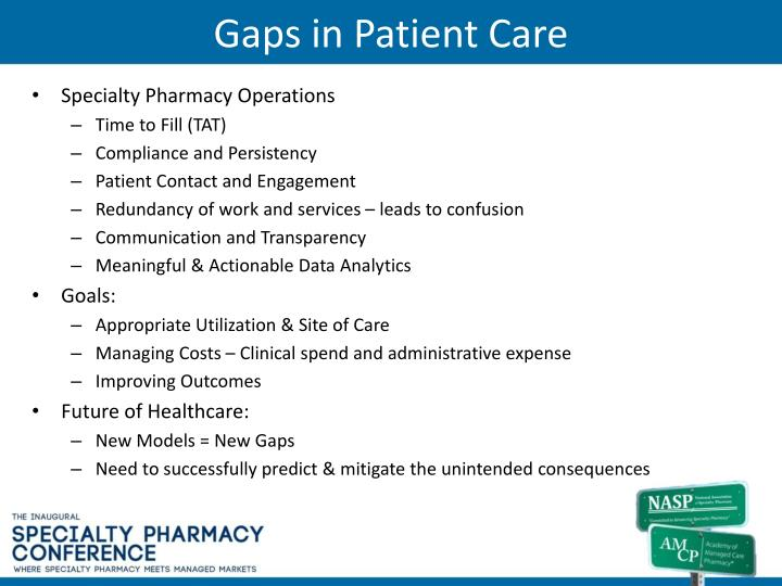 Gaps in Patient Care