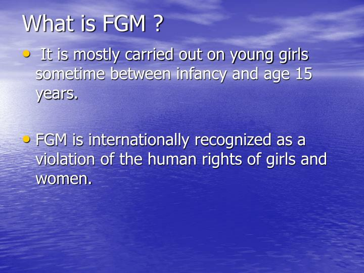 What is fgm1