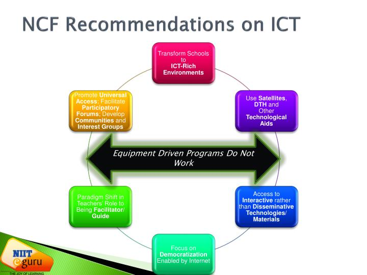 NCF Recommendations on ICT