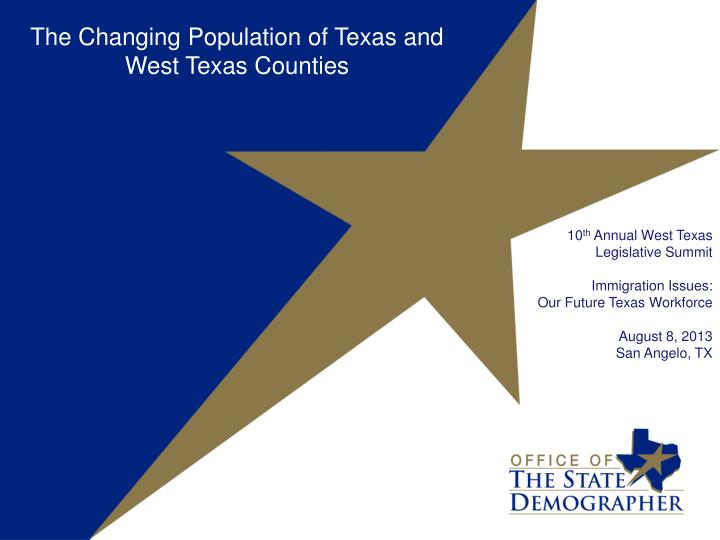 the changing demographics of texas essay