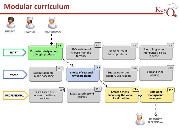 Modular curriculum