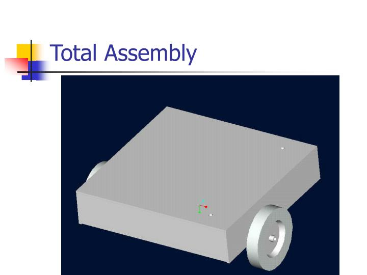Total assembly