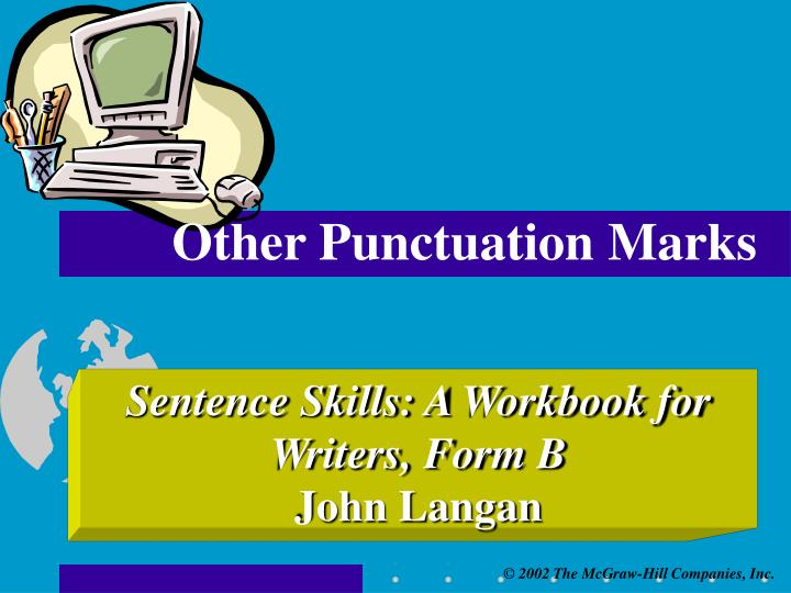 Other punctuation marks