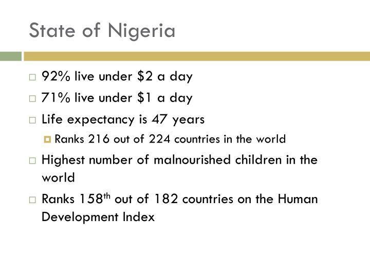 State of Nigeria