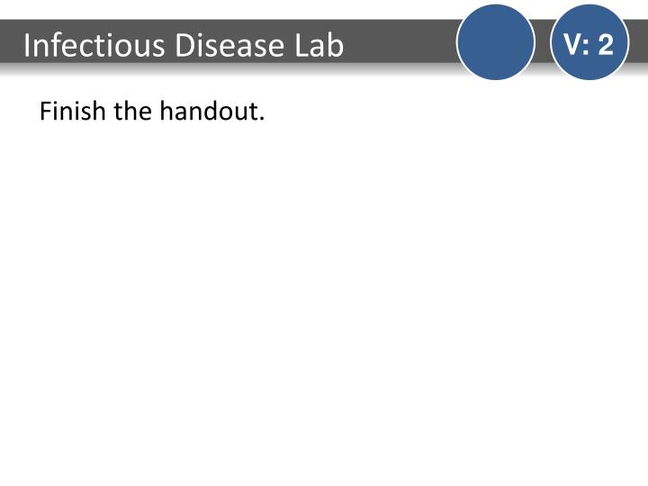 Infectious Disease Lab