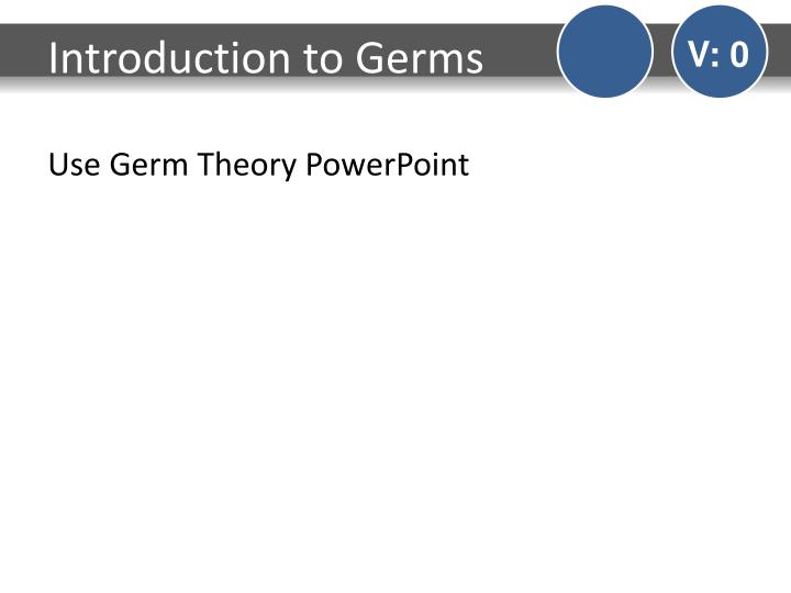 Introduction to Germs