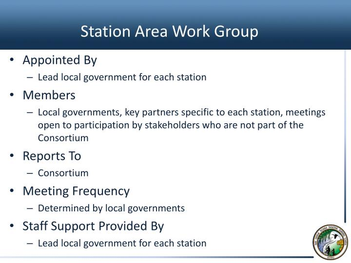 Station Area Work Group
