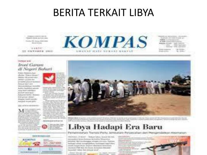 BERITA TERKAIT LIBYA