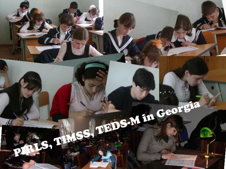 PIRLS, TIMSS, TEDS-M in Georgia